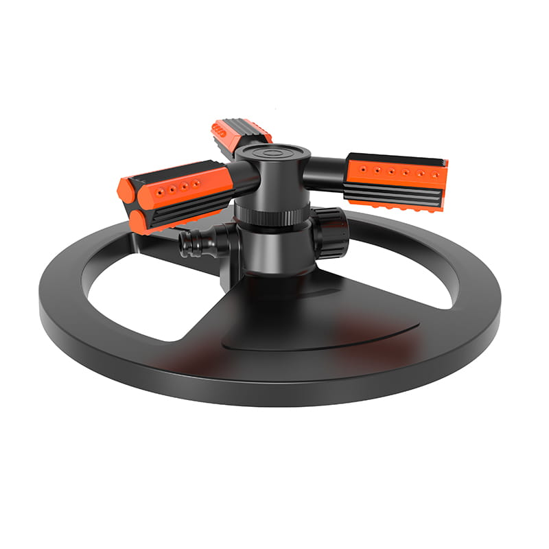 Mobile Portable  TS1001 Three arm sprinkler with round base