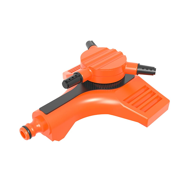 TS1009 Garden Plastic 3 Arms Airplane sprinkler
