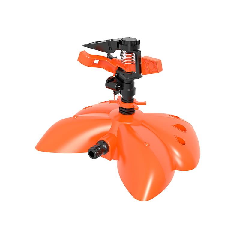 TS1042 Plastic sprinkler withpalstic butterfly shape base