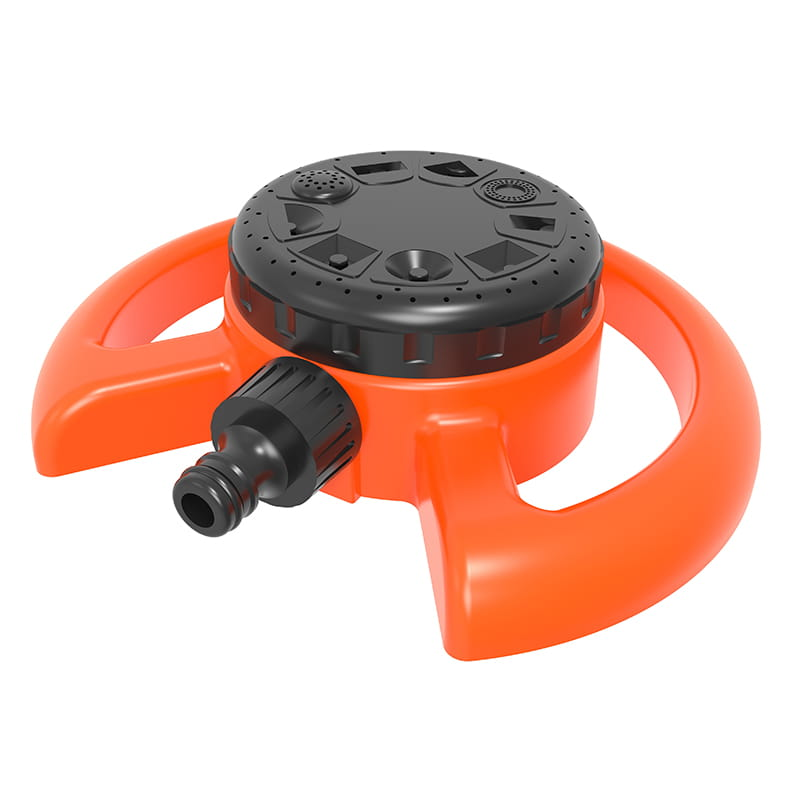 TS1048 8 function sprinkler For Watering Flower And Lawns