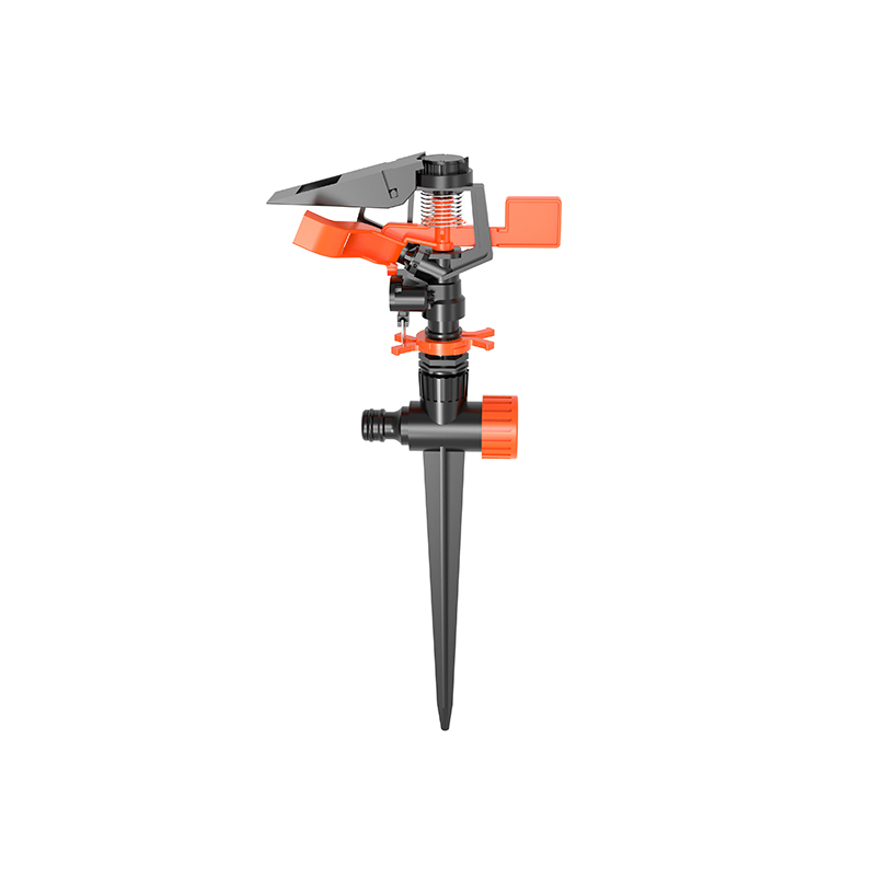 High Quality TS1074 Plastic sprinkler with spike
