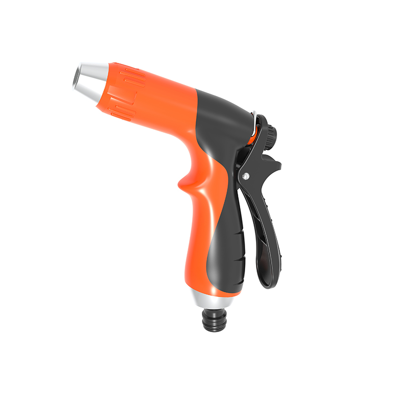 TS2038 Twist click trigger nozzle double colour rubber coated grip