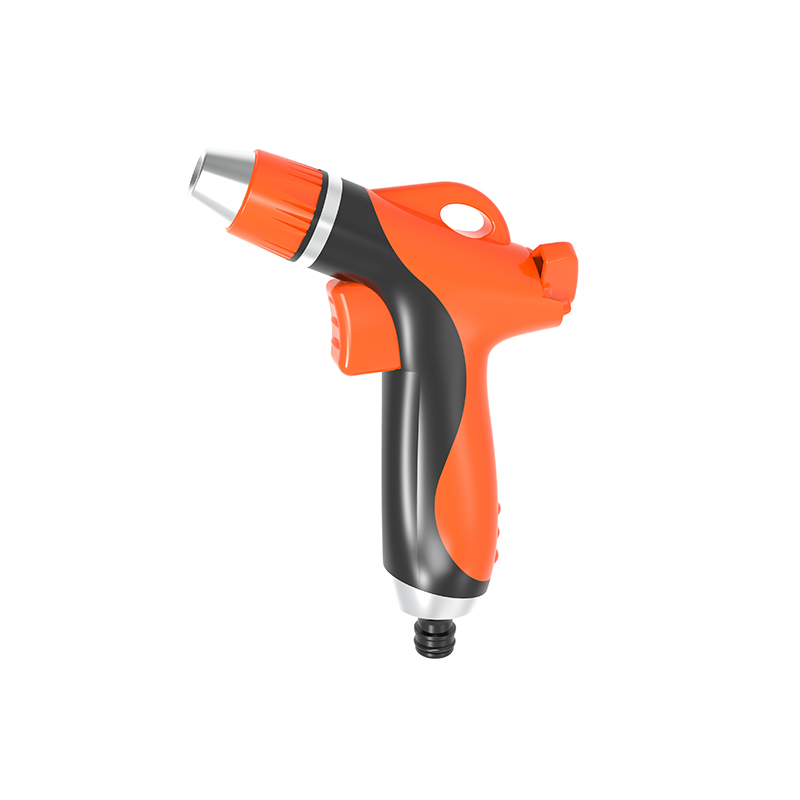 TS2068 Twist click trigger nozzle double colour rubber coated grip