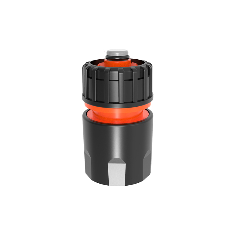 """TS3004P 1/2"""" Garden Plastic connector with stop"""