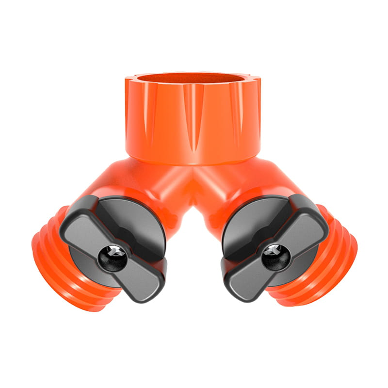 TS3018USA1 Plastic two way connector with valve