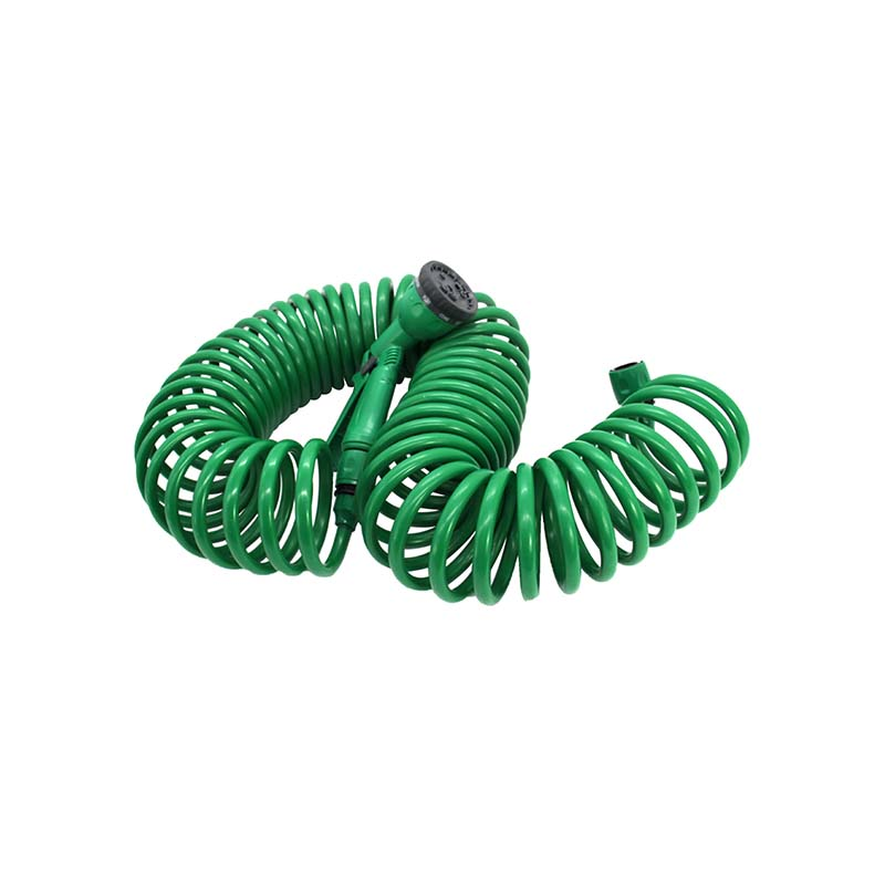 TS5012 15m recoil hose set plastic pistol+connector With Low Cost
