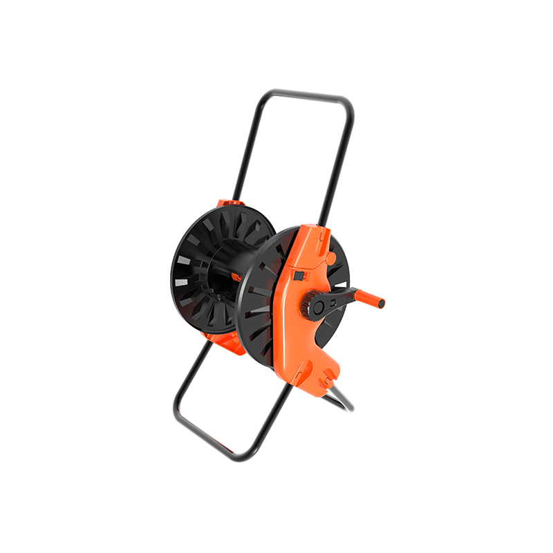 TS8002 Portable Hose Reel 60 Meter 1/2 Hose Capacity Flexible Handle