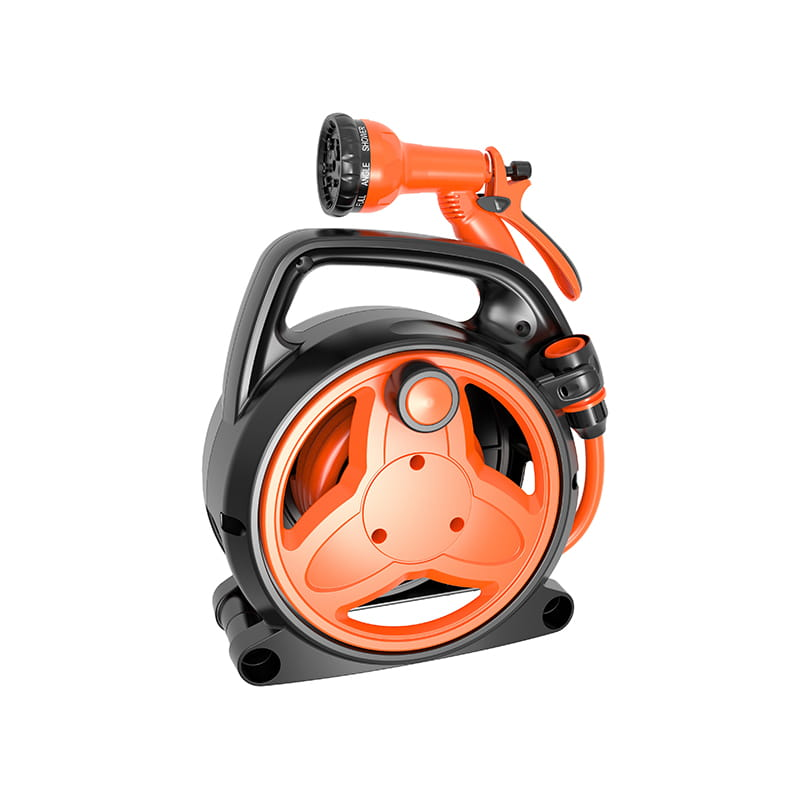 TS8013 Mini portable hose reel with 10 meter hose