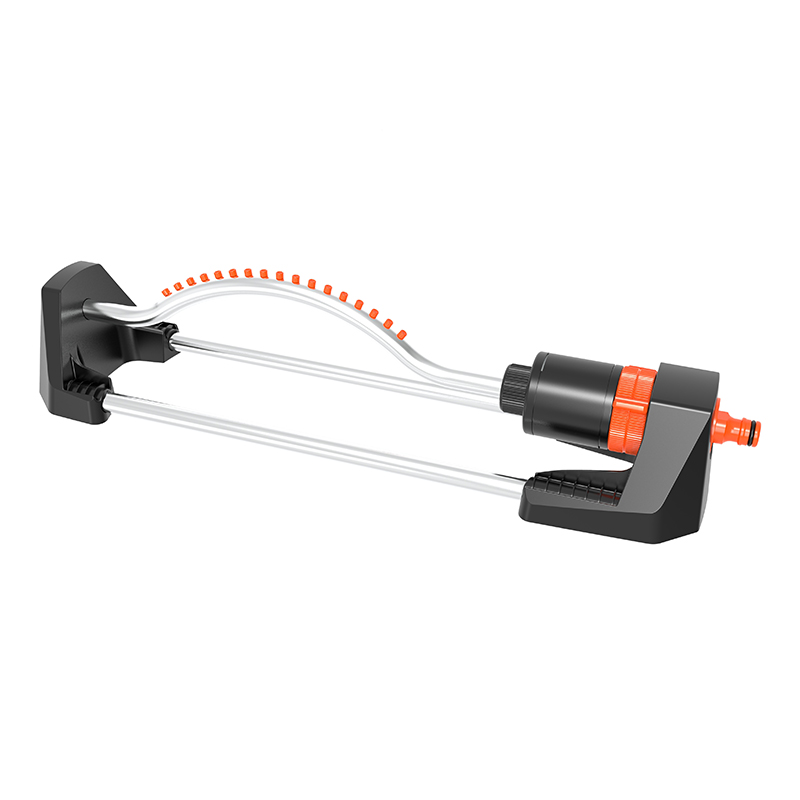 Durable TS8018 OSCILLATING SPRINKLER WITH PLASTIC NOZZLE