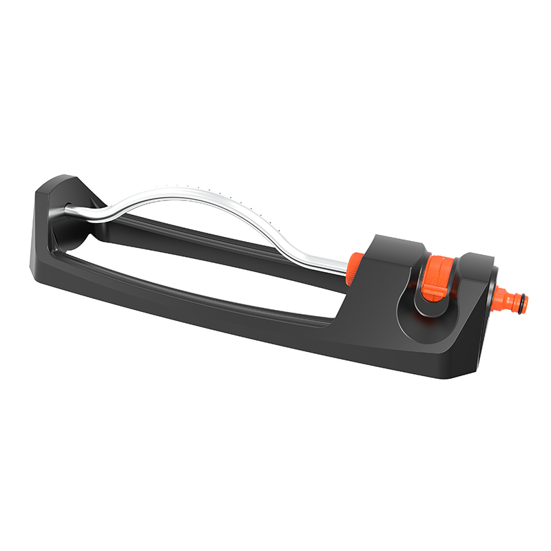 TS8026 OSCILLATING SPRINKLER WITH PLASTIC BASE