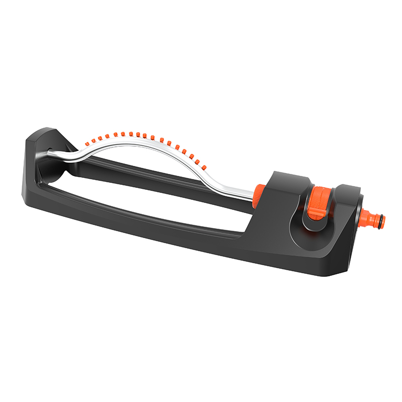 TS8027 OSCILLATING SPRINKLER WITH PLASTIC NOZZLE