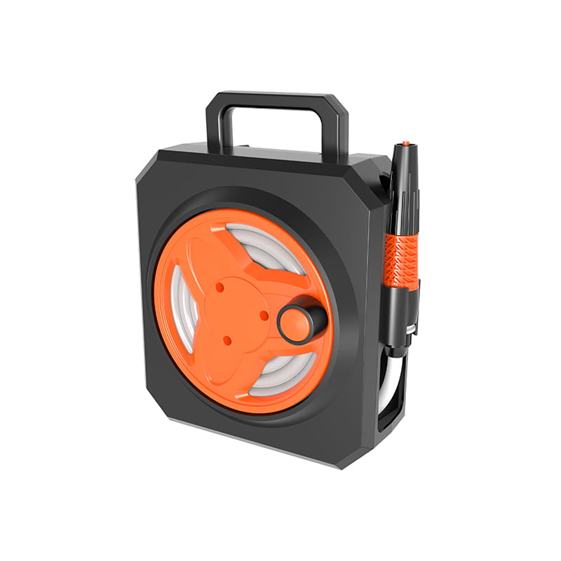 Easy To Use Mini portable hose reel with 10 meter hose